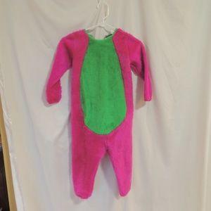Barney Vintage Halloween Costume 4-6